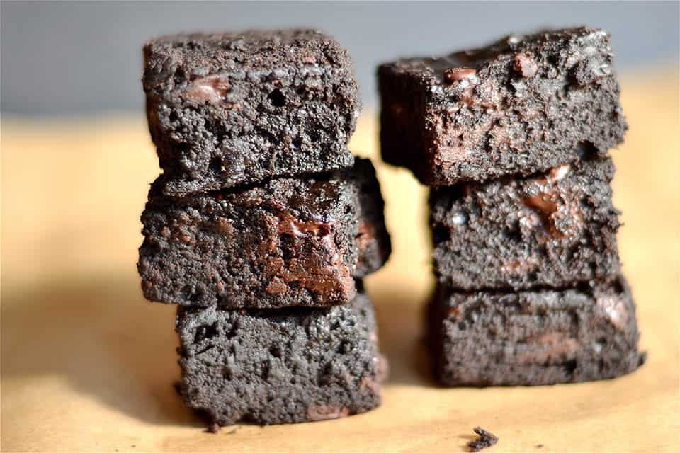 THE BEST Dark Chocolate Brownies 3