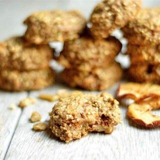 Apple Zucchini Bread Breakfast Cookies