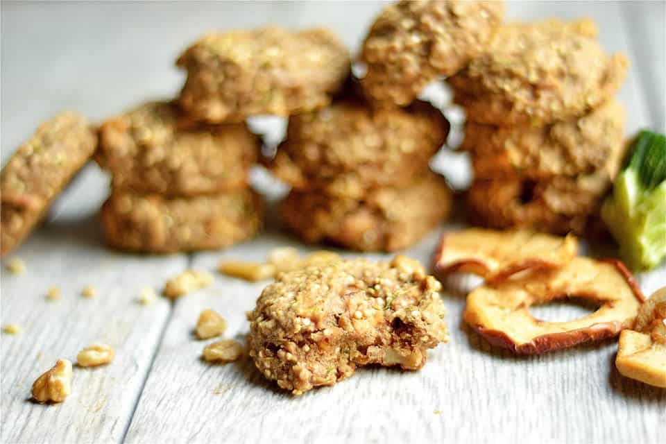 Apple Zucchini Bread Breakfast Cookies