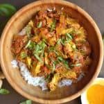 Slow Cooker (or Instant Pot) Chicken Tikka Masala
