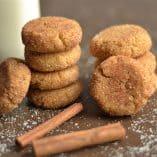 Grain-Free Chai Spiced Snickerdoodles (Paleo)