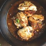 Skillet Sun-dried Tomato and Basil Stuffed Chicken
