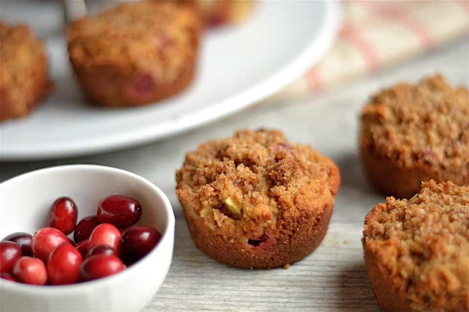 paleo-cranberry-apple-crumb-muffins
