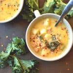 Slow Cooker or Instant Pot Zuppa Toscana (Paleo, Whole30)