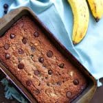 Chocolate Chip Banana Bread (Paleo)