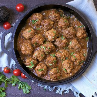 Chipotle Enchilada Meatballs