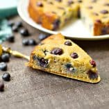 Paleo Blueberry Lemon Cake