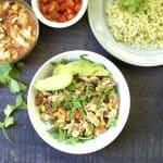 Slow Cooker or Instant Pot Santa Fe Chicken