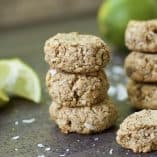 Coconut Lime Sugar Cookies (Paleo & Vegan)