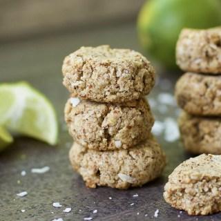 Coconut Lime Sugar Cookies (Paleo & Vegan)