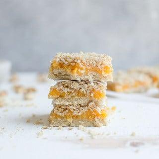Apricot Bars (Paleo, Vegan)