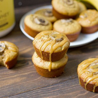 Peanut Butter Banana Protein Muffins (Grain Free)