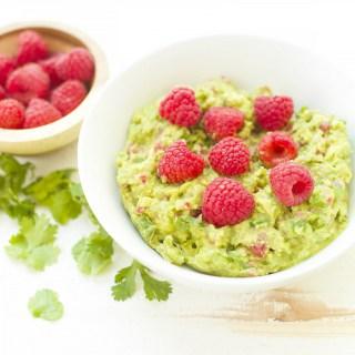 Raspberry Guacamole