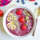 Kid-Friendly Smoothie Bowls (Vegan, Paleo)