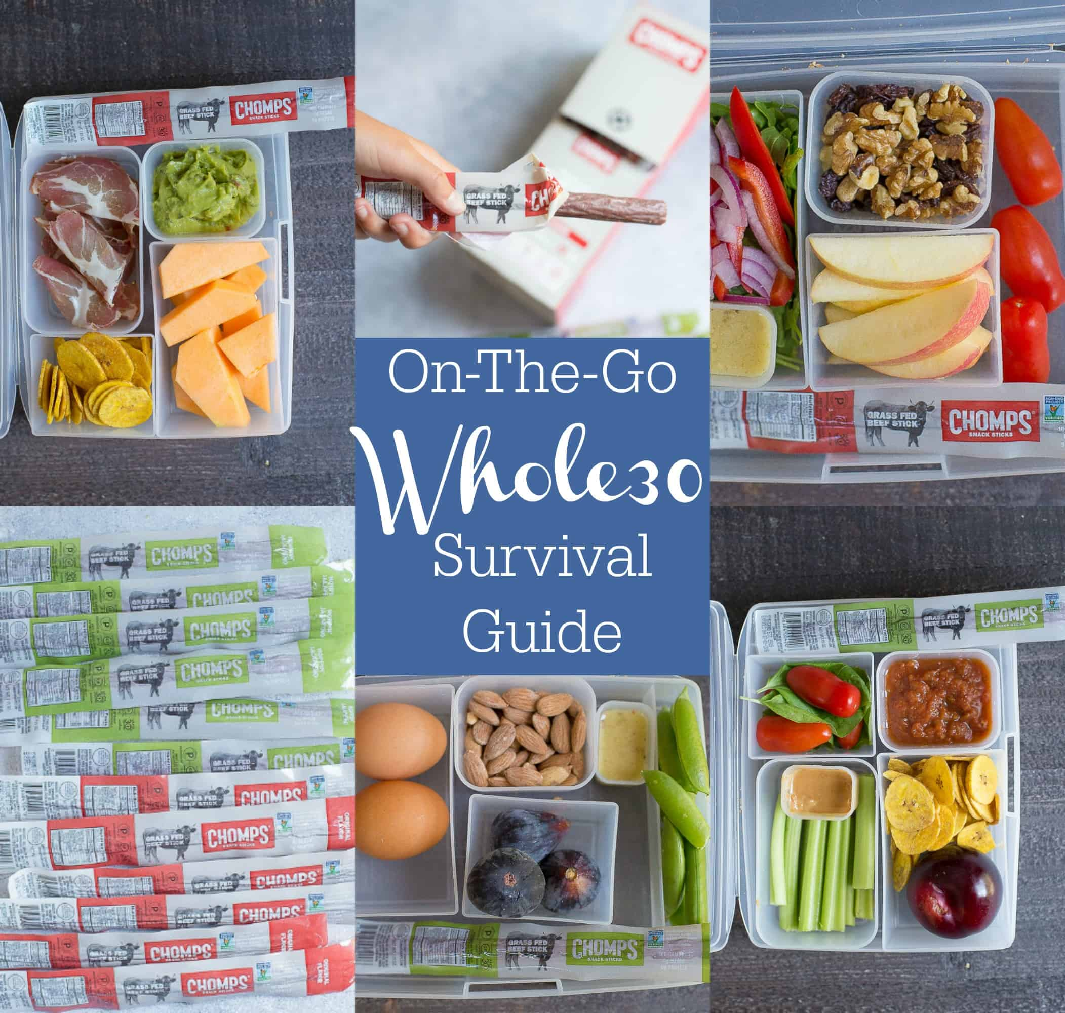 On The Go Whole30 Survival Guide Wholesomelicious