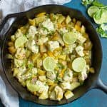 Skillet Cilantro Lime Chicken and Potatoes