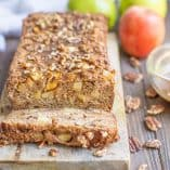 Paleo Caramel Apple Bread