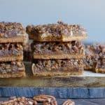 Maple Pecan Shortbread Bars (Paleo, Vegan)