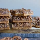 Maple Pecan Shortbread Bars (Paleo, Vegan)