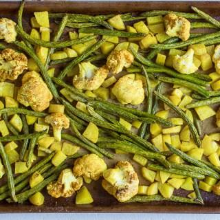 Turmeric Roasted Vegetables