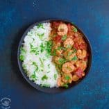 Easy Coconut Red Curry Shrimp