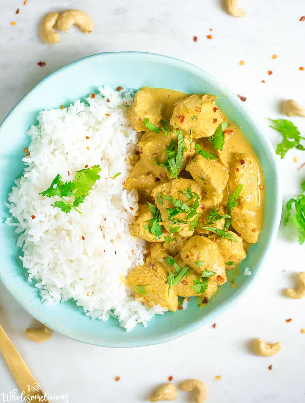 Slow Cooker Chicken Korma Wholesomelicious