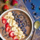 Chocolate Berry Smoothie Bowl