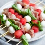 Watermelon Prosciutto Skewers