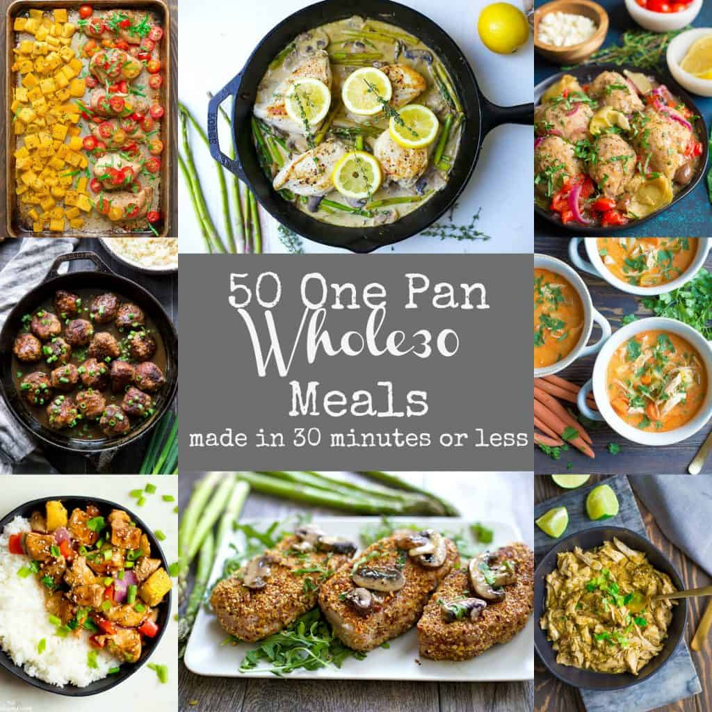 50 Easy Whole30 One Pan Meals Wholesomelicious