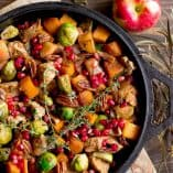 Fall Harvest Balsamic Chicken Skillet