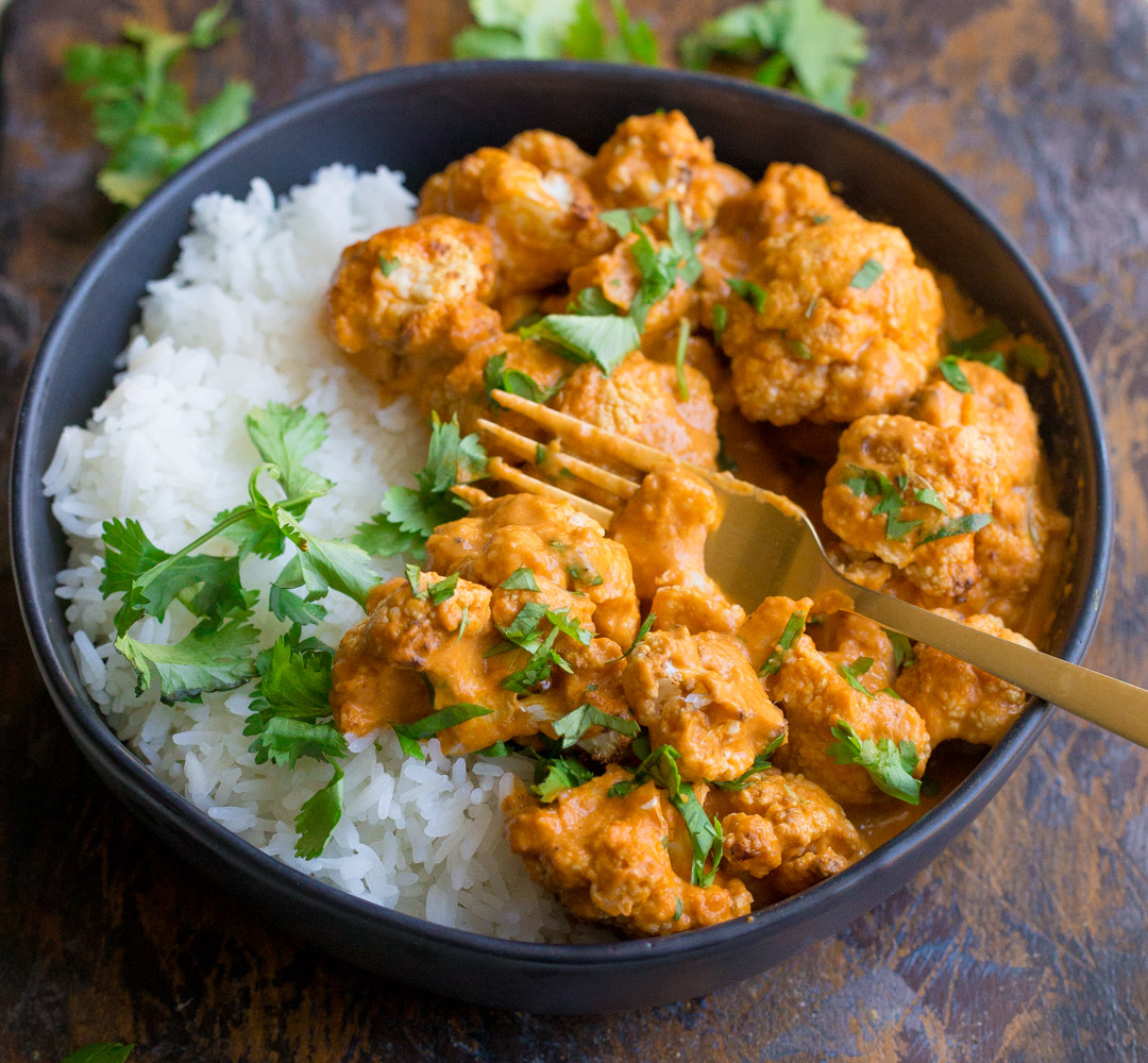 Indian Butter Cauliflower (Vegan, Paleo, Whole30 ...