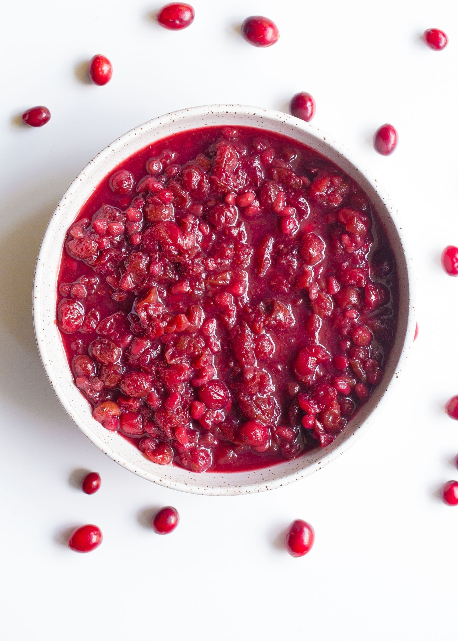 Slow Cooker Cranberry And Pomegranate Sauce Wholesomelicious